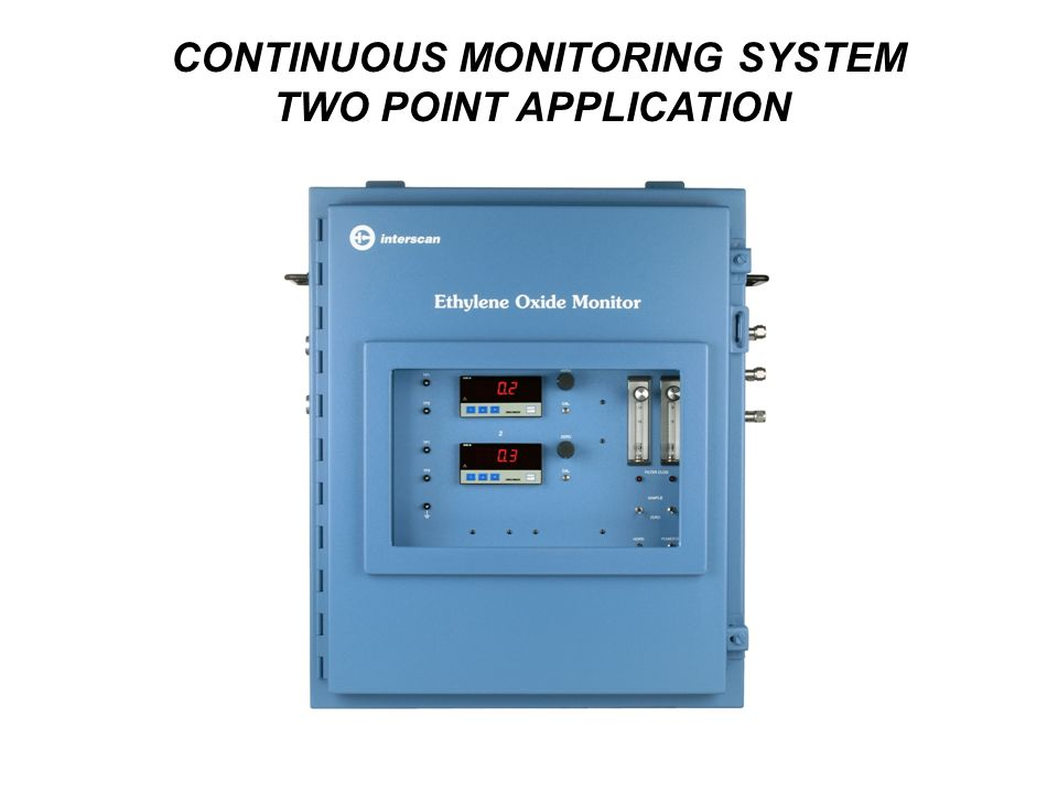 CONTINUOUS MONITORING SYSTEM TWO POINT APPLICATION