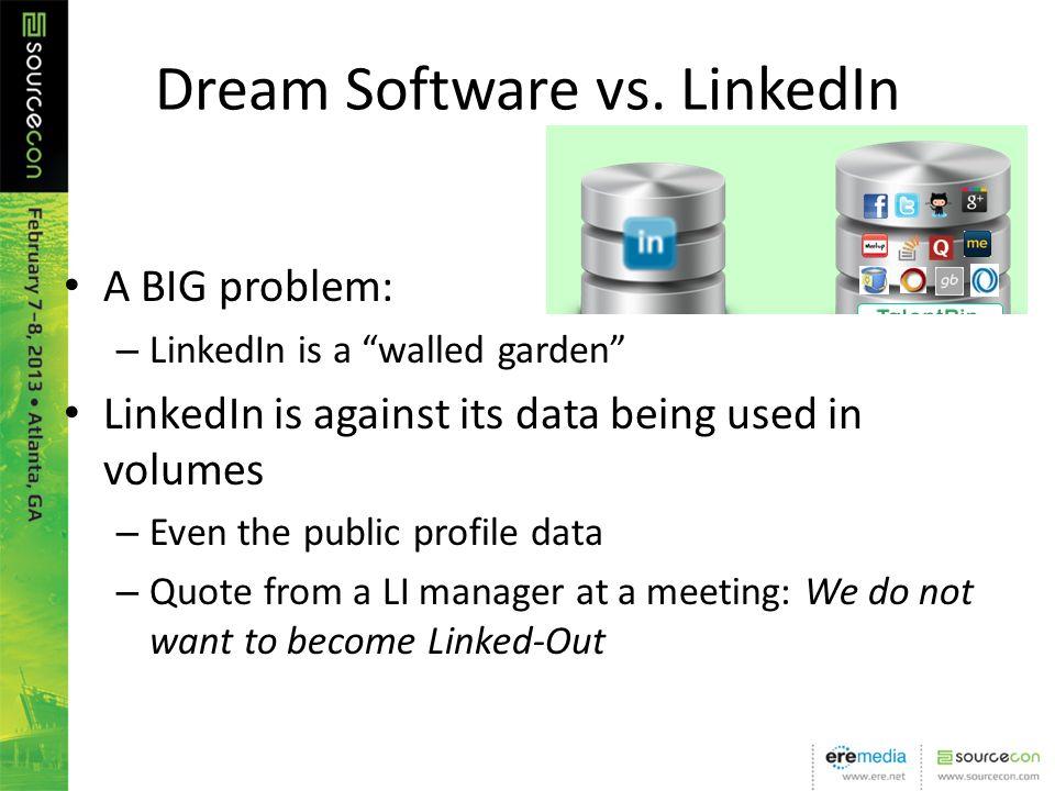 Dream Software vs.