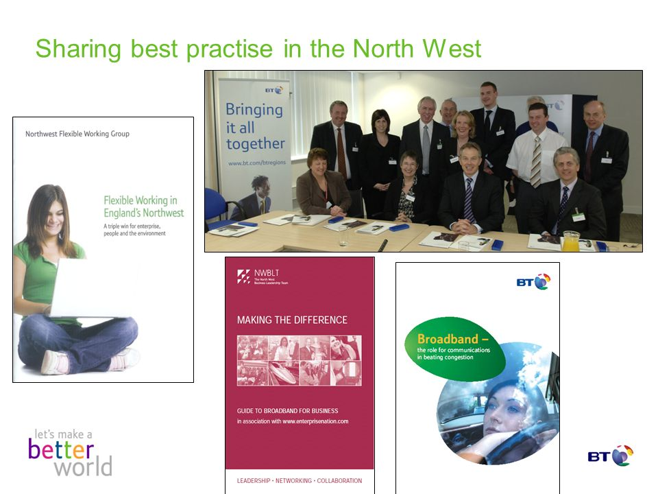 Sharing best practise in the North West