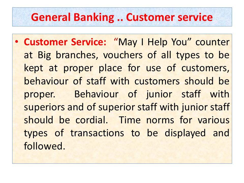 General Banking..