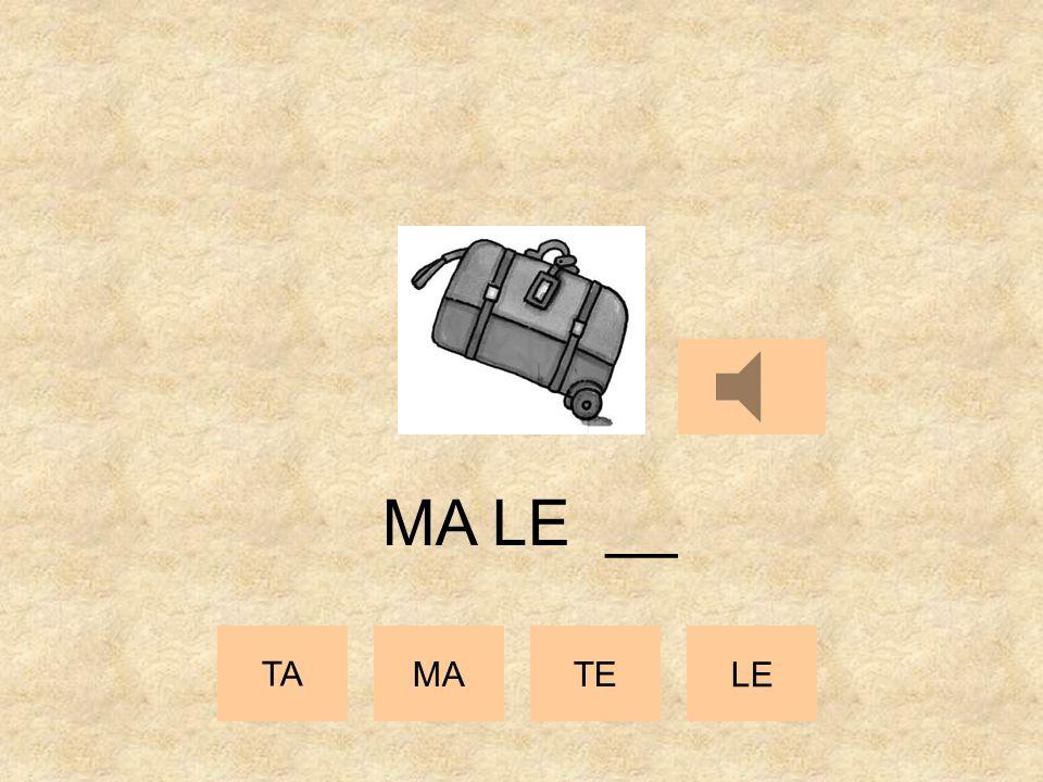 TA MATE LE MA __ __
