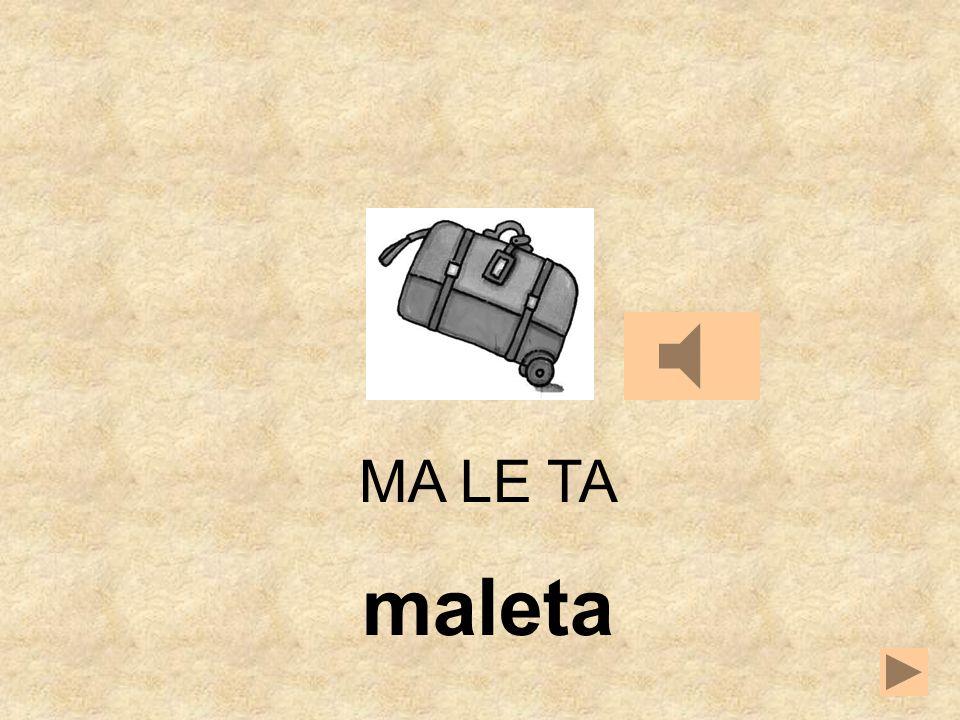 TA MATE LE MA LE __