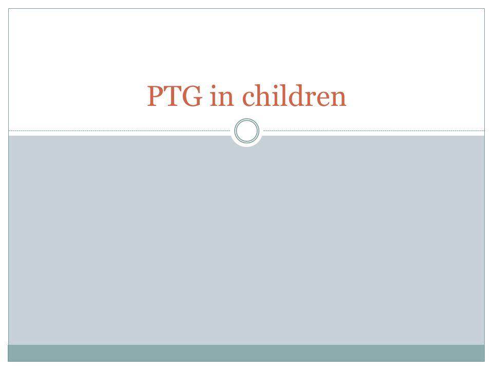 PTG in children