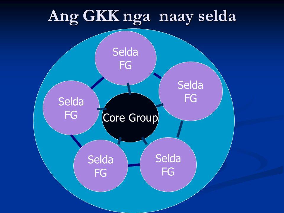 Ang GKK nga naay selda Core Group Selda FG Selda FG Selda FG Selda FG Selda FG