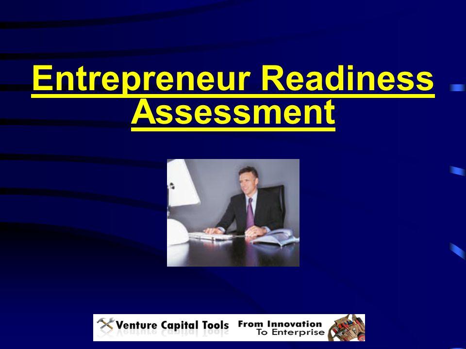 Entrepreneur Readiness Assessment