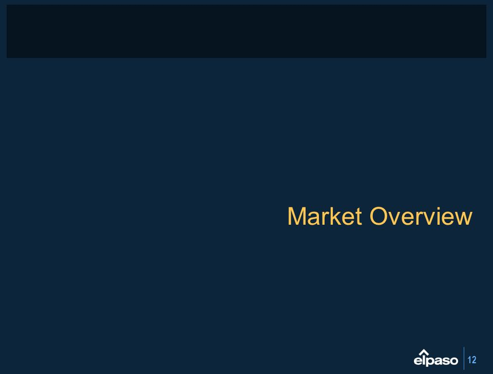 12 Market Overview