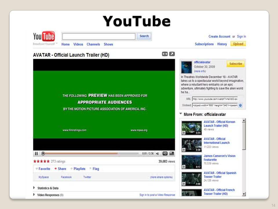 14 YouTube
