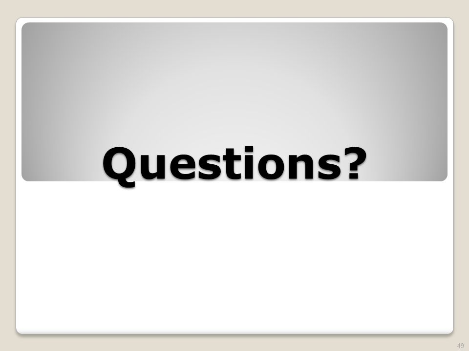 Questions 49