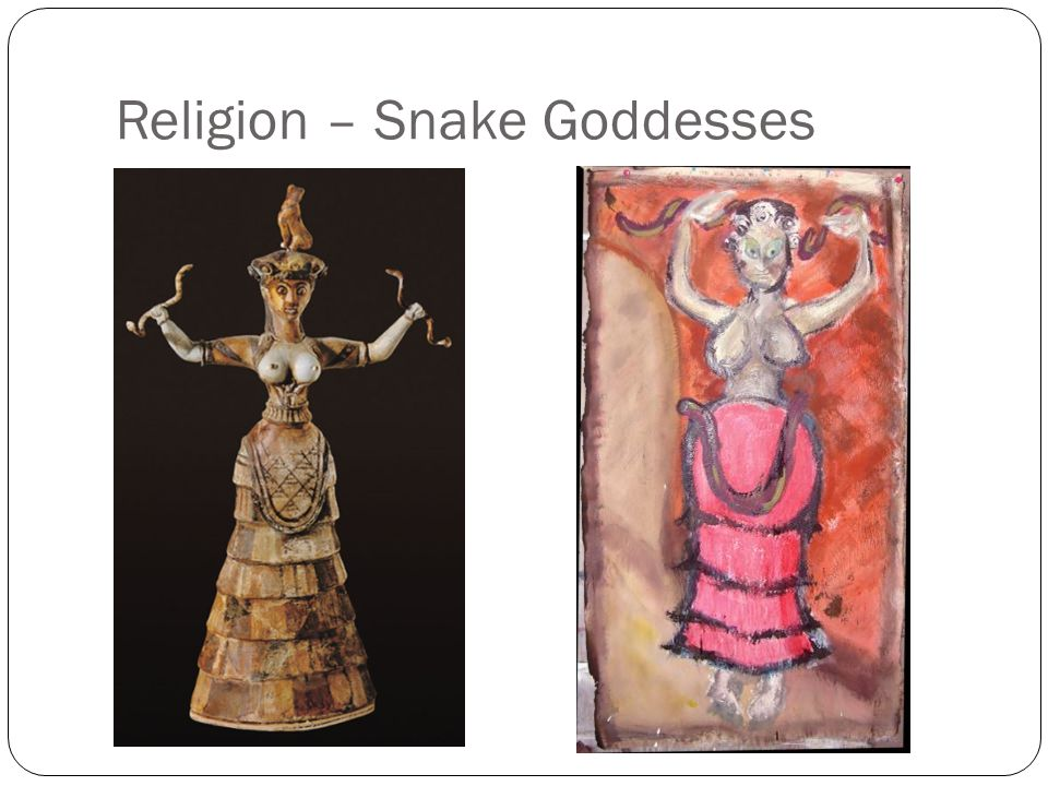 Religion – Snake Goddesses