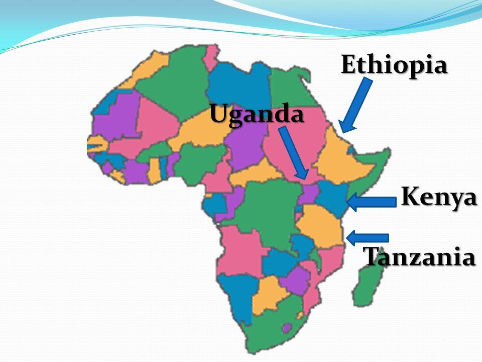 Ethiopia Kenya Tanzania Uganda