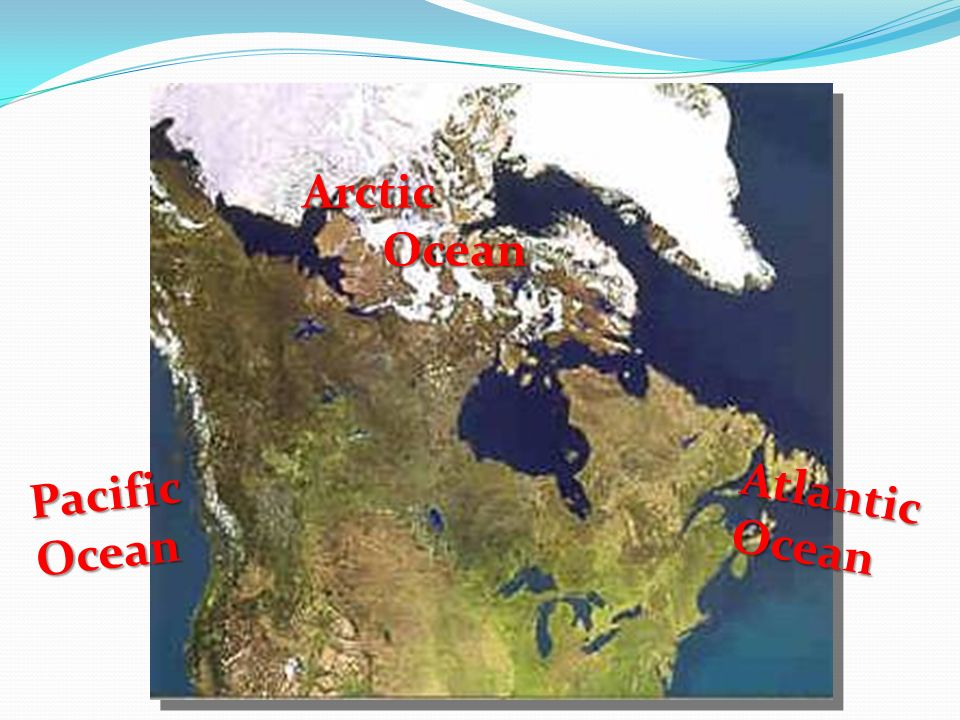 PacificOcean AtlanticOcean Arctic Ocean Ocean