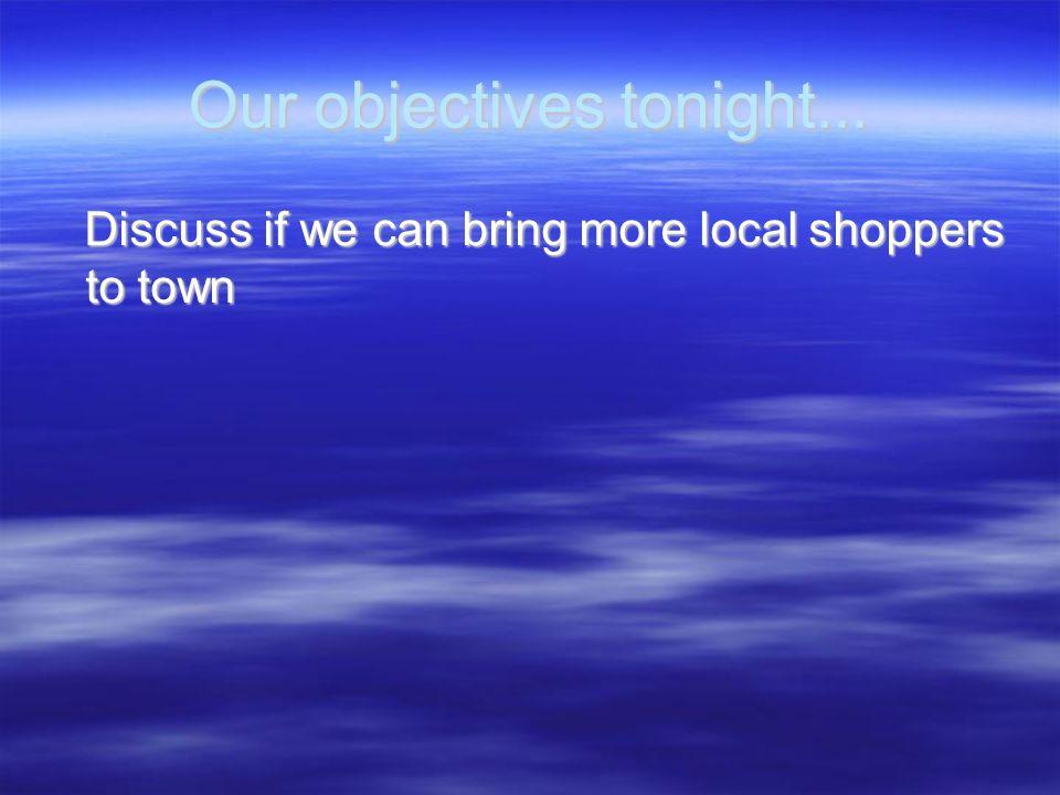 Economic Development Make sure store employees dont use prime parking spots Make sure store employees dont use prime parking spots