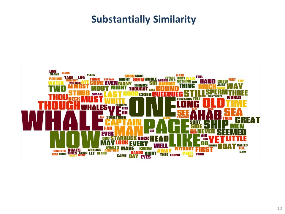 10 Substantially Similarity