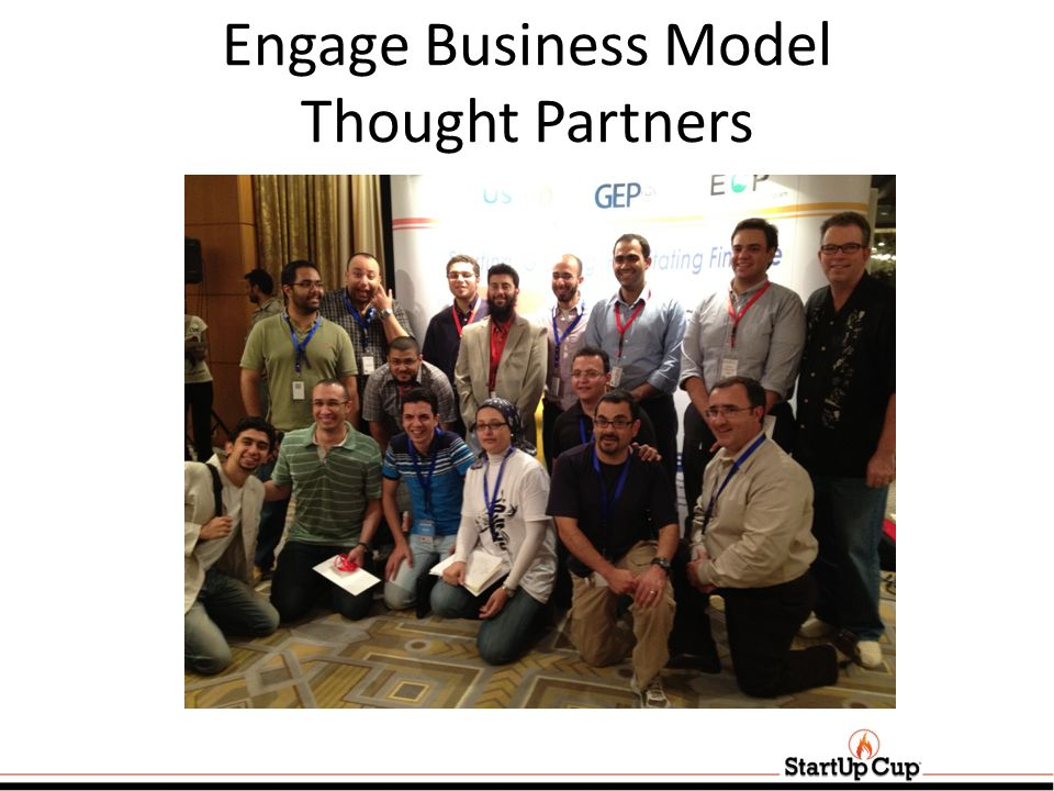 Engage Business Model Thought Partners
