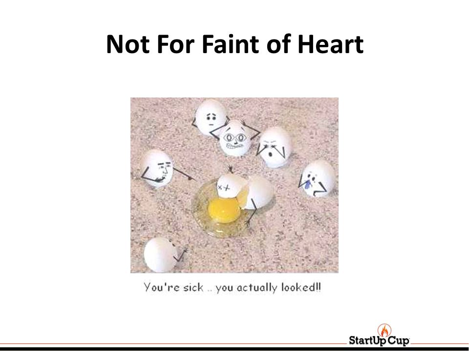Not For Faint of Heart