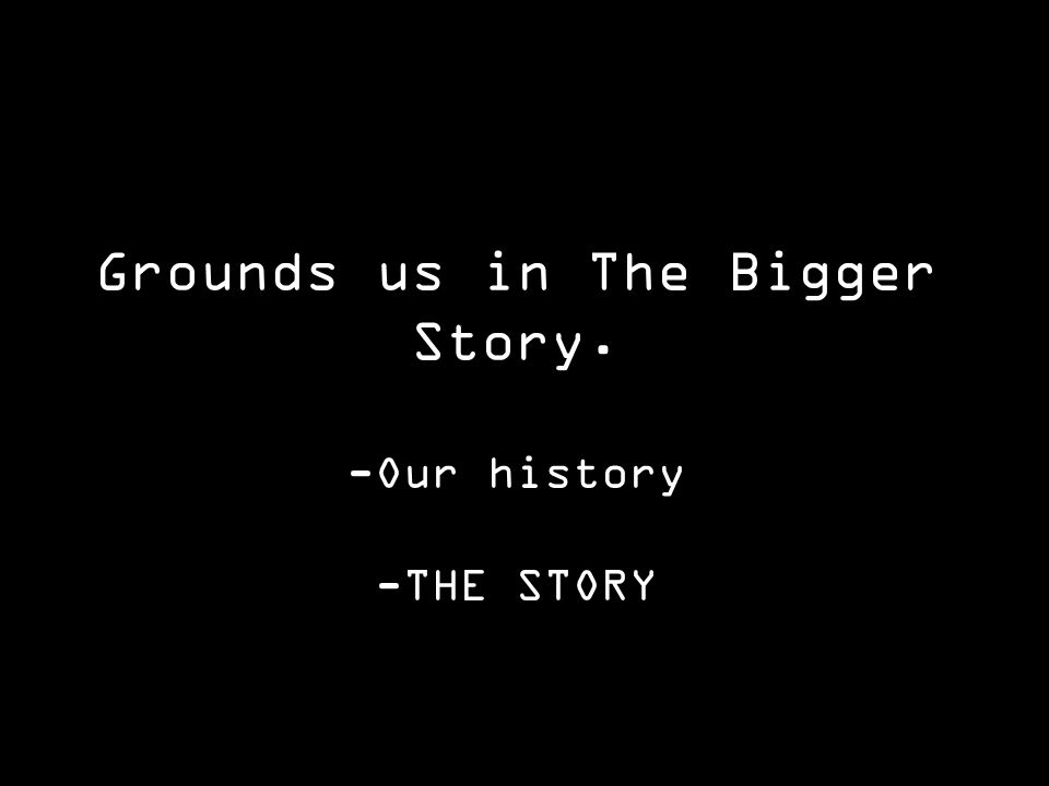 -Our history -THE STORY