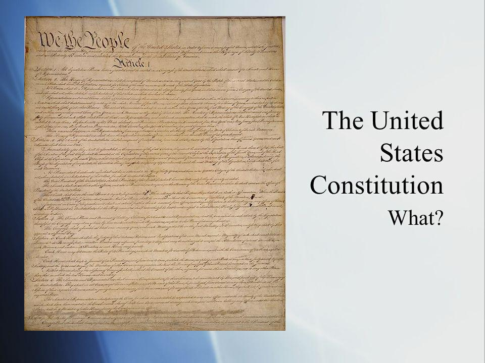 What are the rights / amendments.