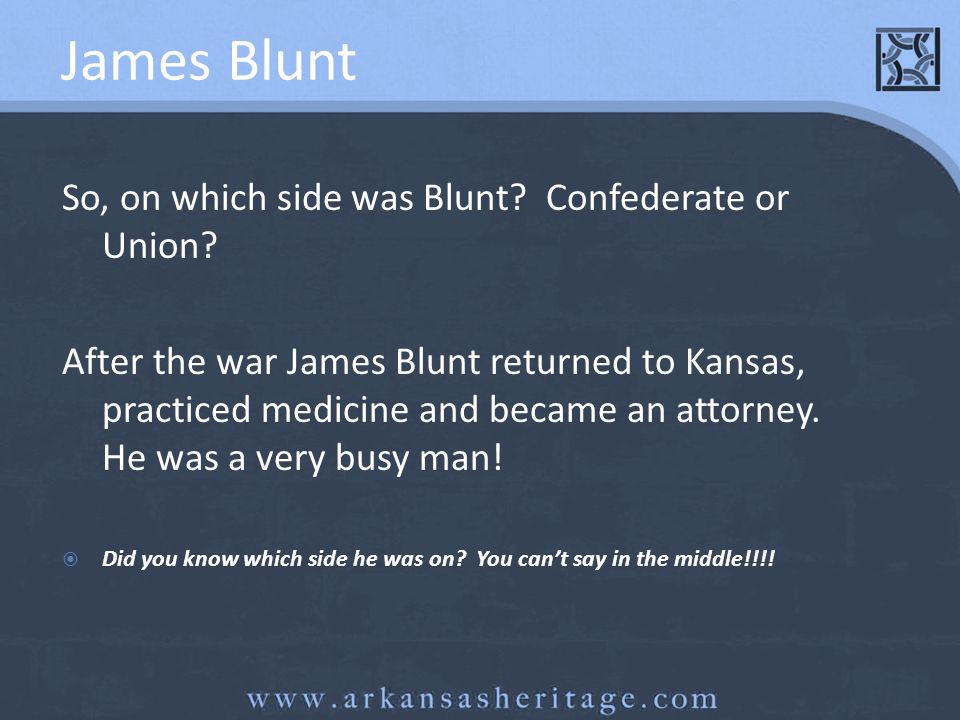Review I was governor of Arkansas during the Civil War.