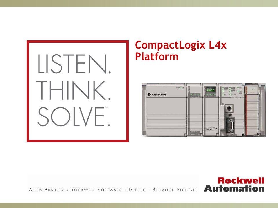 CompactLogix L4x Platform
