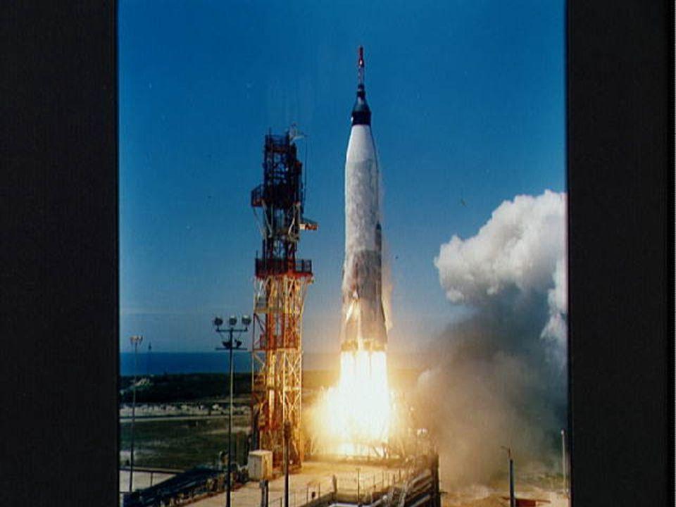 Mercury-Atlas 3 Liftoff