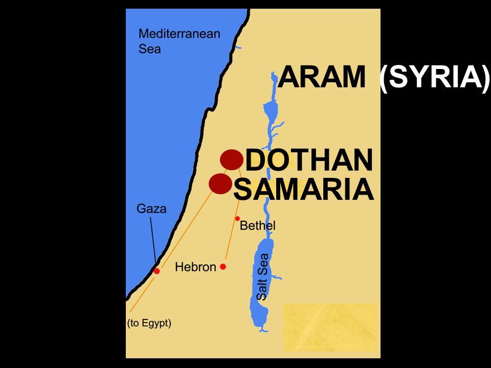ARAM (SYRIA) DOTHAN SAMARIA