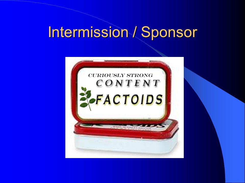 Intermission / Sponsor