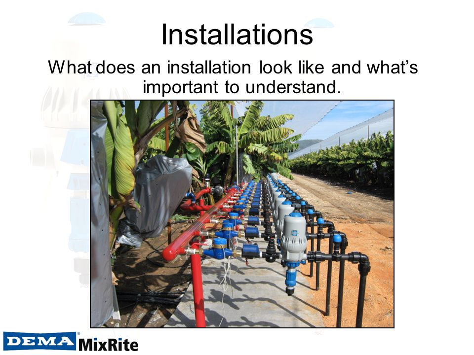 Installations What does an installation look like and whats important to understand.