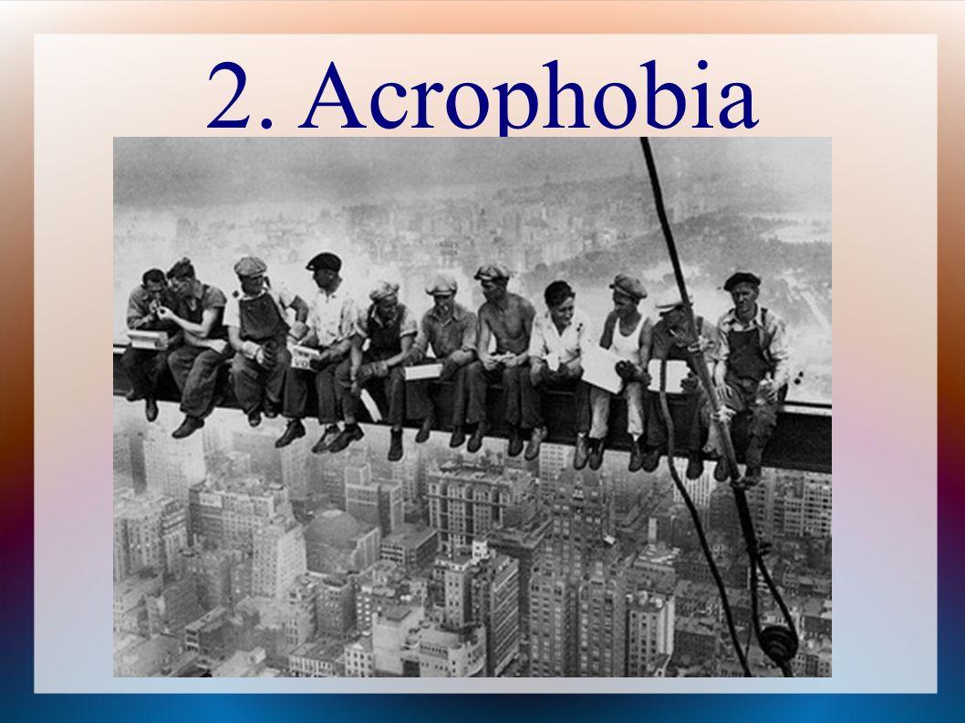 2. Acrophobia
