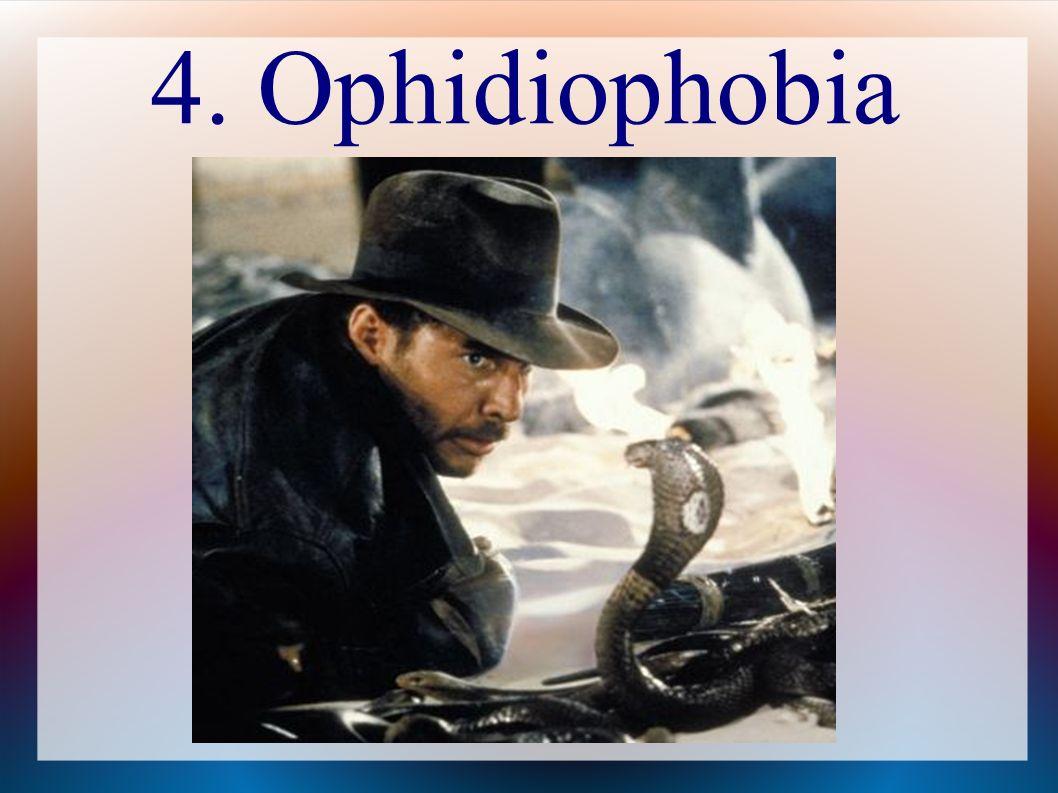 4. Ophidiophobia
