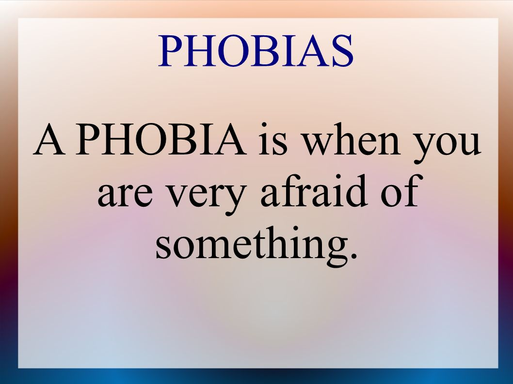 Aerophobia means you re afraid of flying.