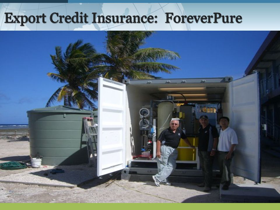 Export Credit Insurance: ForeverPure