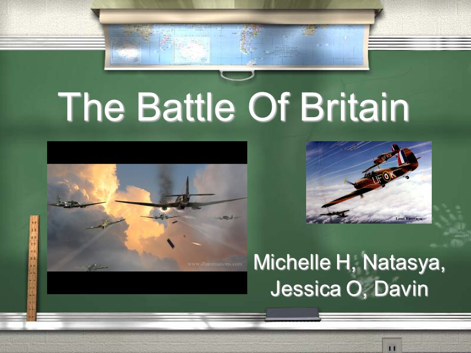 What: An aviation war fought between Brtain and Germany When: July 10 – September 15, 1940 Effects: The Battle of Britain was an unnecessary war in which the Luftwaffe attacked Brtain for pointless reasons The Battle Of Britain