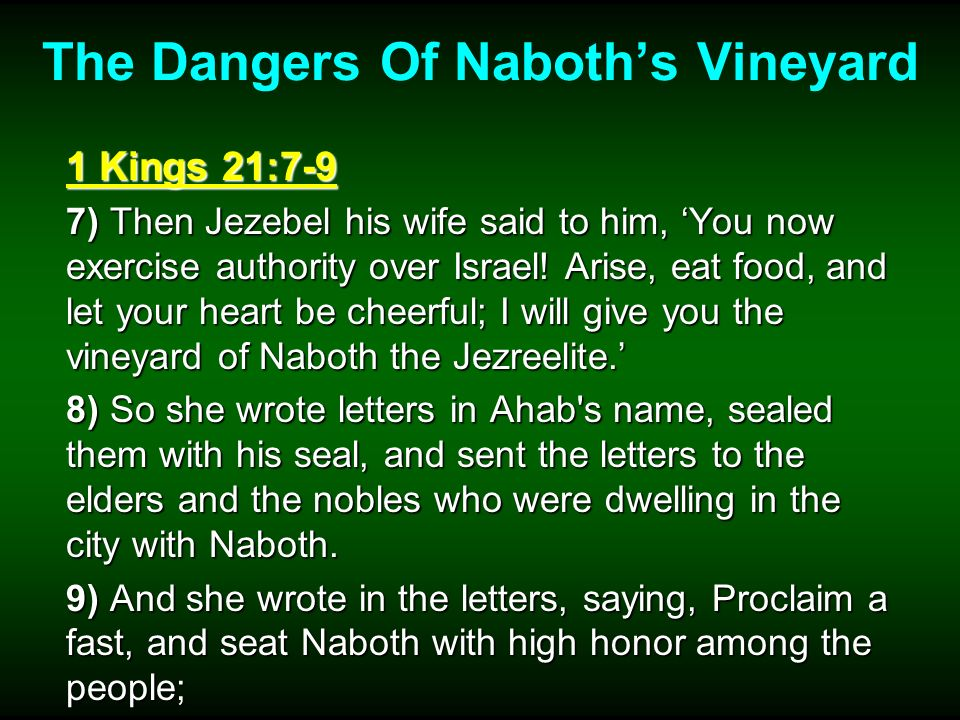 Beware Of Covetousness 1 Corinthians 6:9-10 9) Do you not know that the unrighteous will not inherit the kingdom of God.