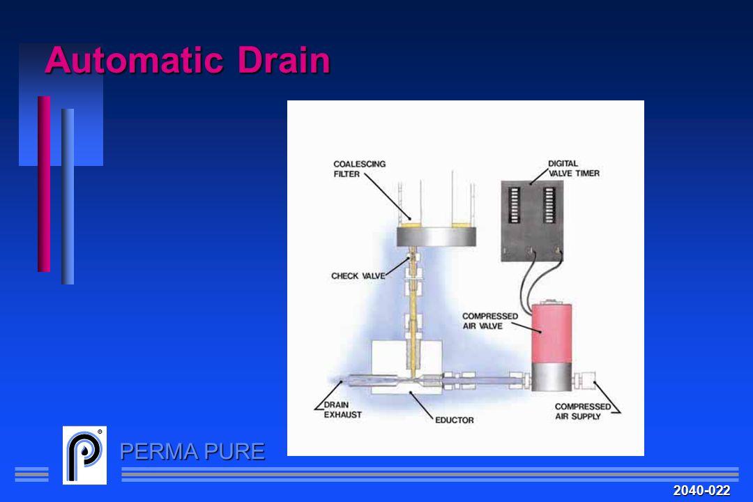 PERMA PURE Automatic Drain 2040-022