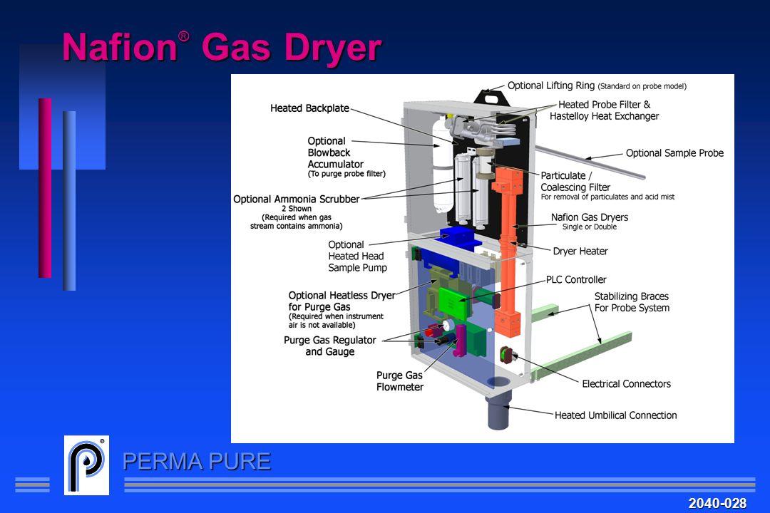 PERMA PURE Nafion ® Gas Dryer 2040-028