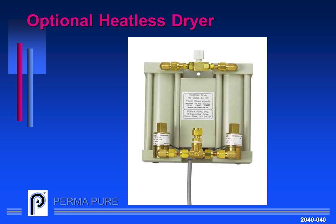PERMA PURE Optional Heatless Dryer 2040-040