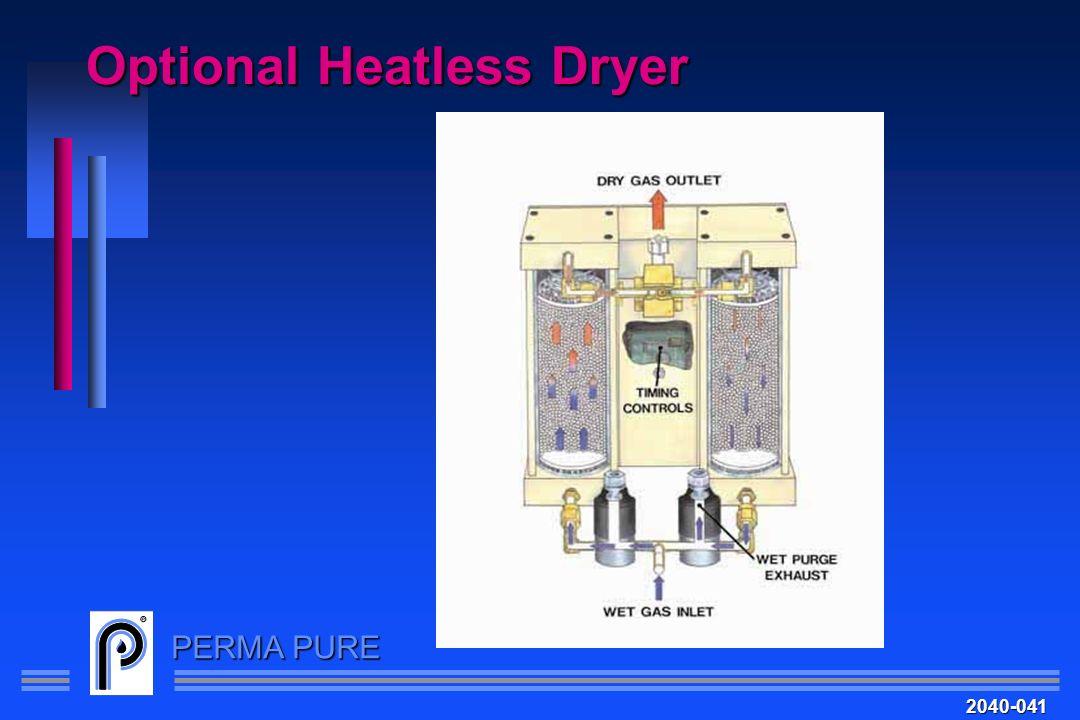 PERMA PURE Optional Heatless Dryer 2040-041