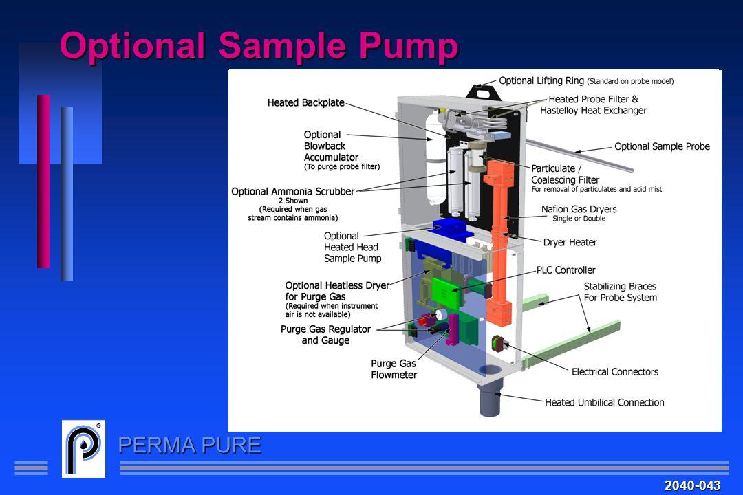 PERMA PURE Optional Sample Pump 2040-043