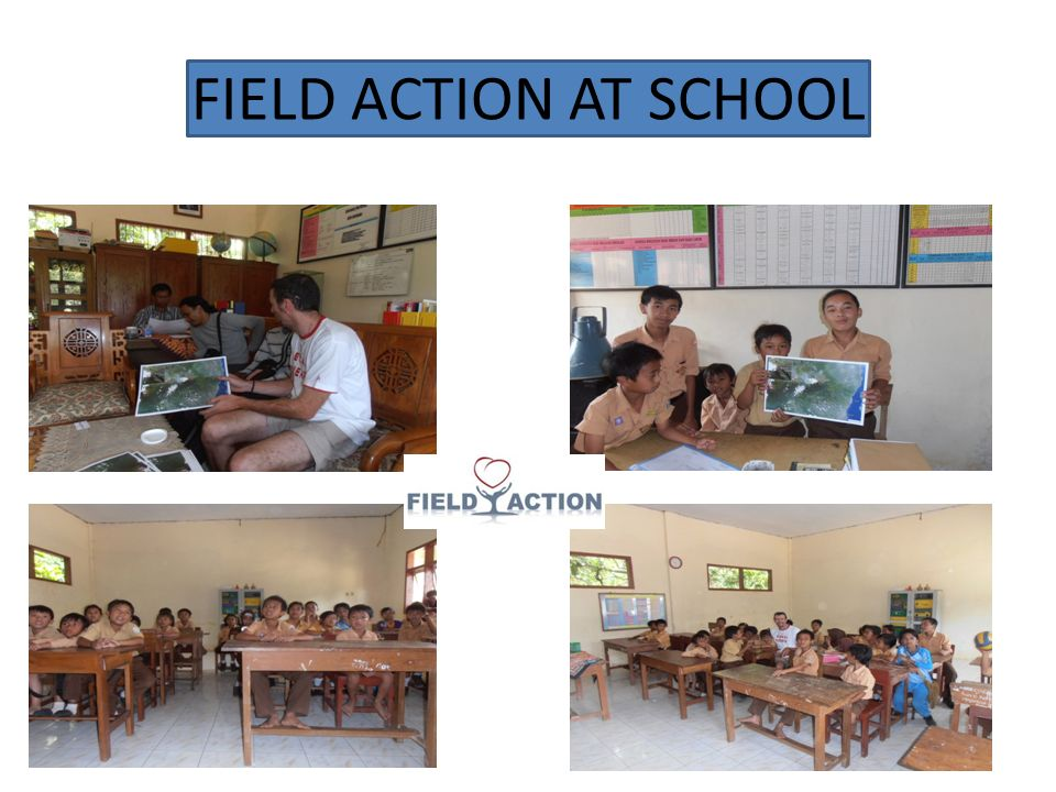 FIELD ACTION AT SCHOOL