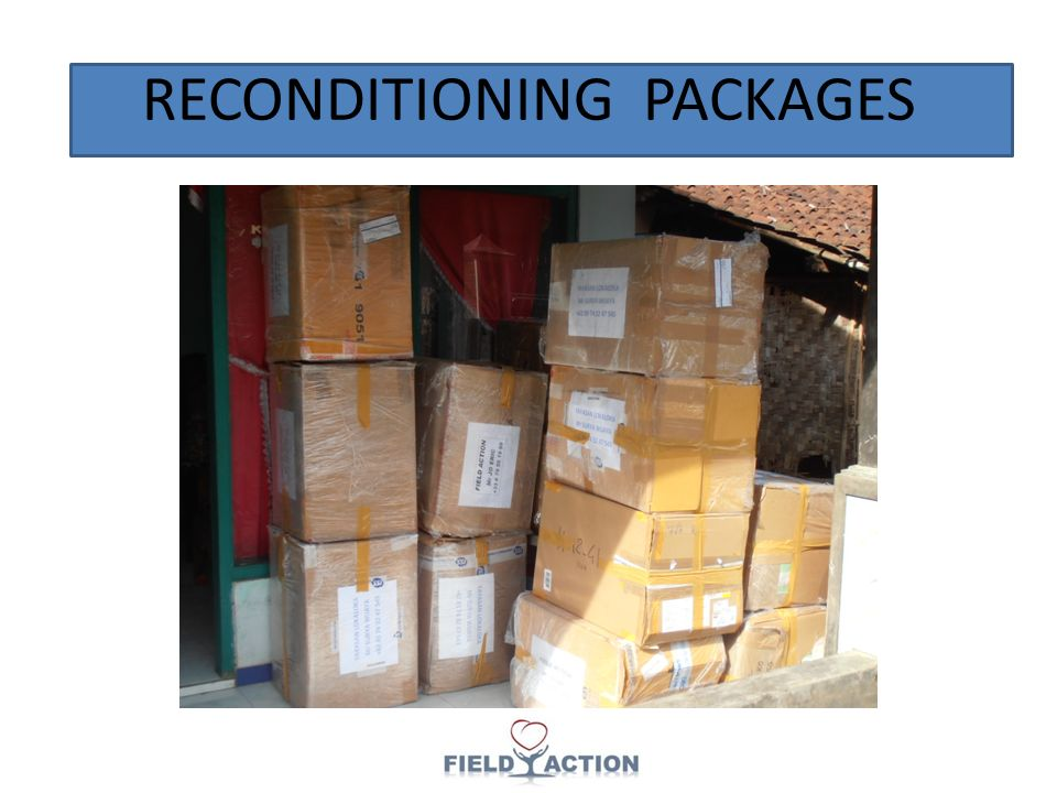 RECONDITIONING PACKAGES