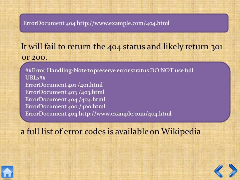 It will fail to return the 404 status and likely return 301 or 200.