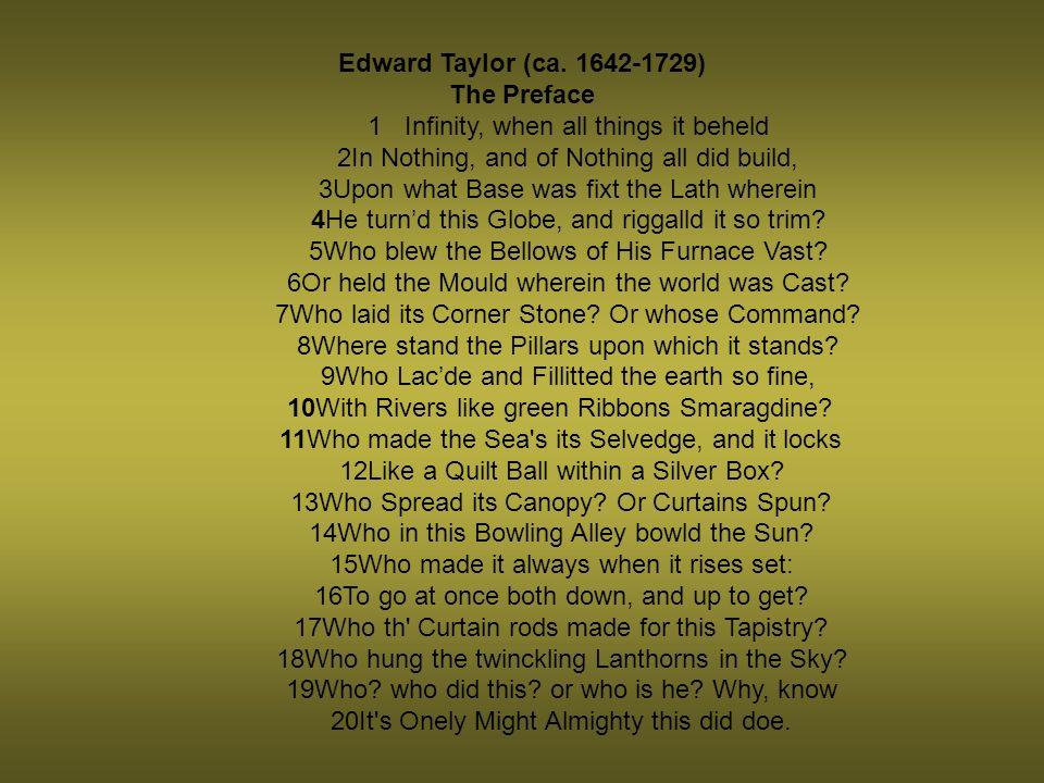 Edward Taylor (ca.