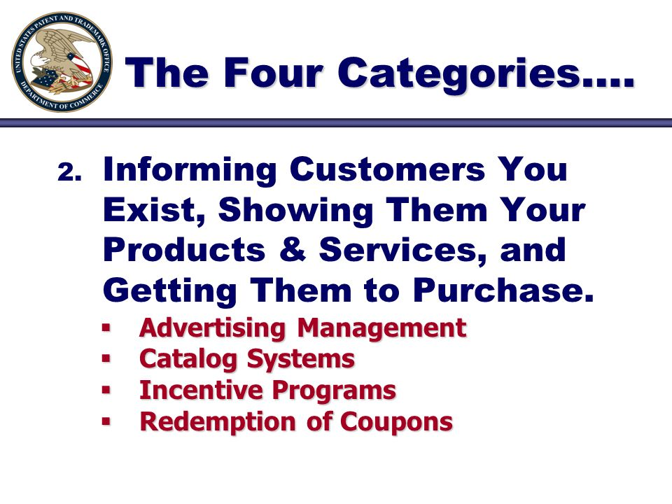 2. 2. Informing Customers You Exist, Showing Them Your Products & Services, and Getting Them to Purchase. Advertising Management Advertising Managemen