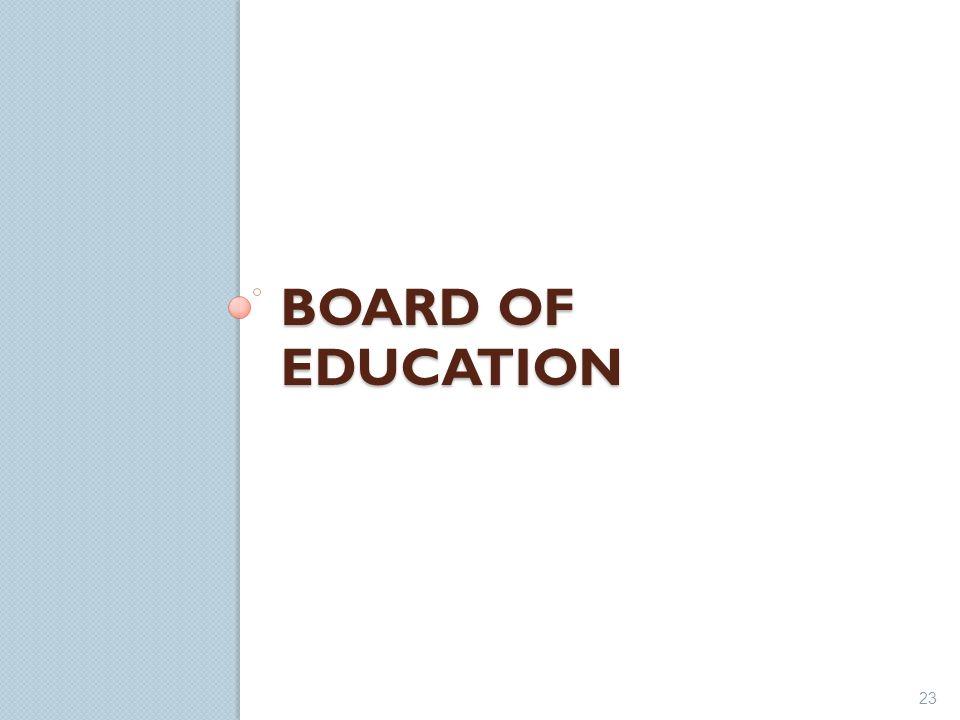 BOARD OF EDUCATION 23