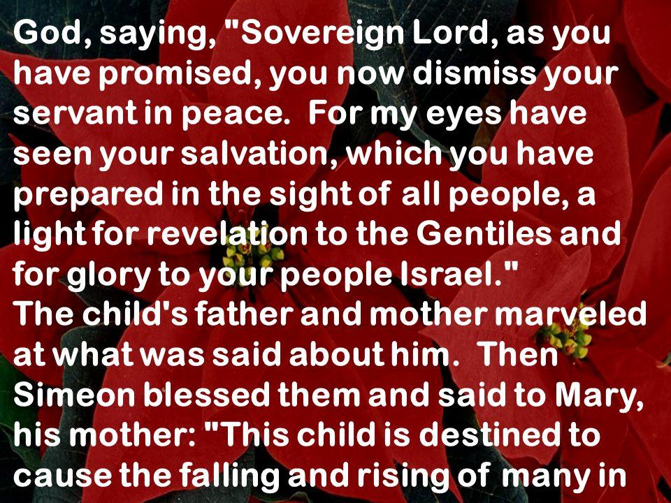 God, saying,