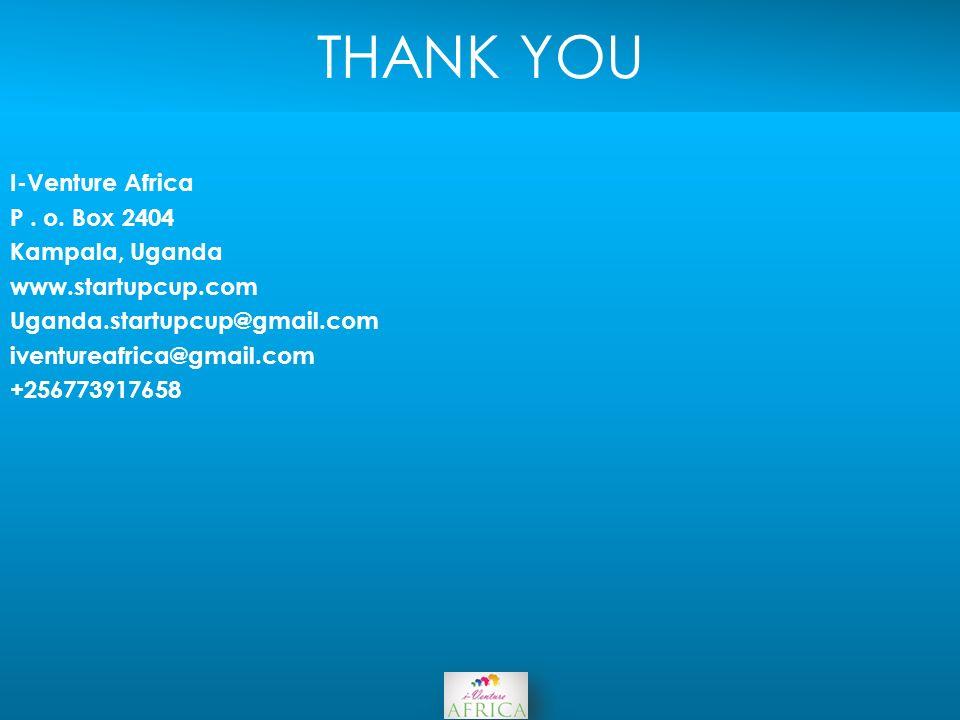 THANK YOU I-Venture Africa P. o.
