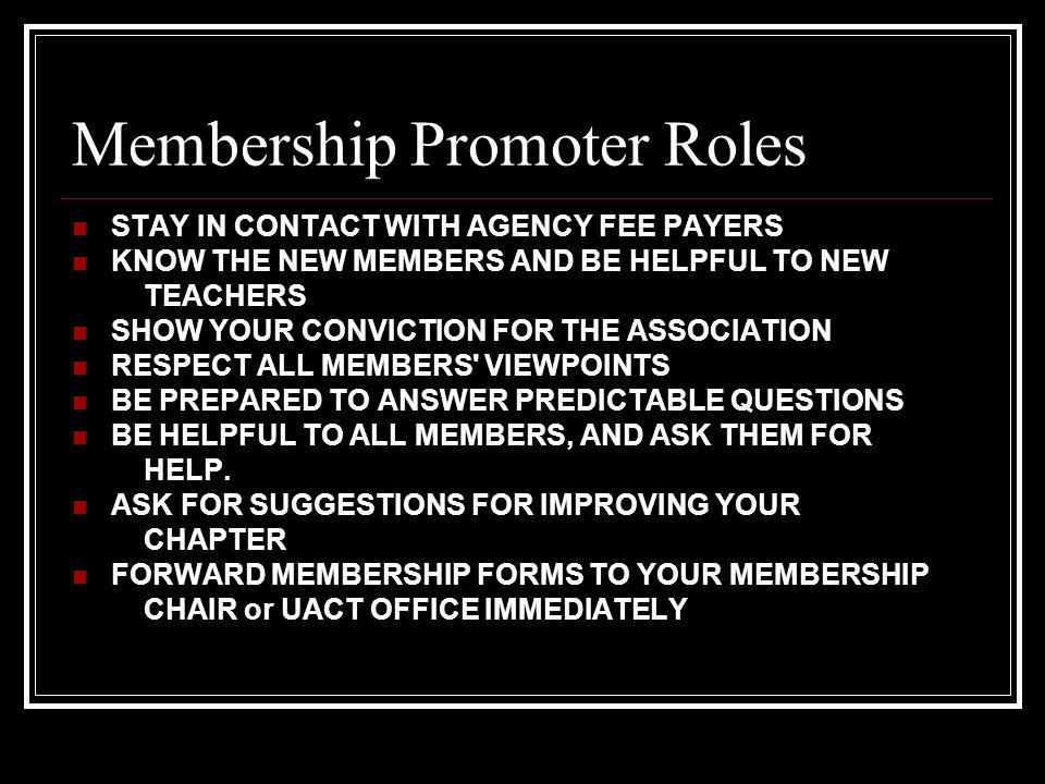 Membership Promoter