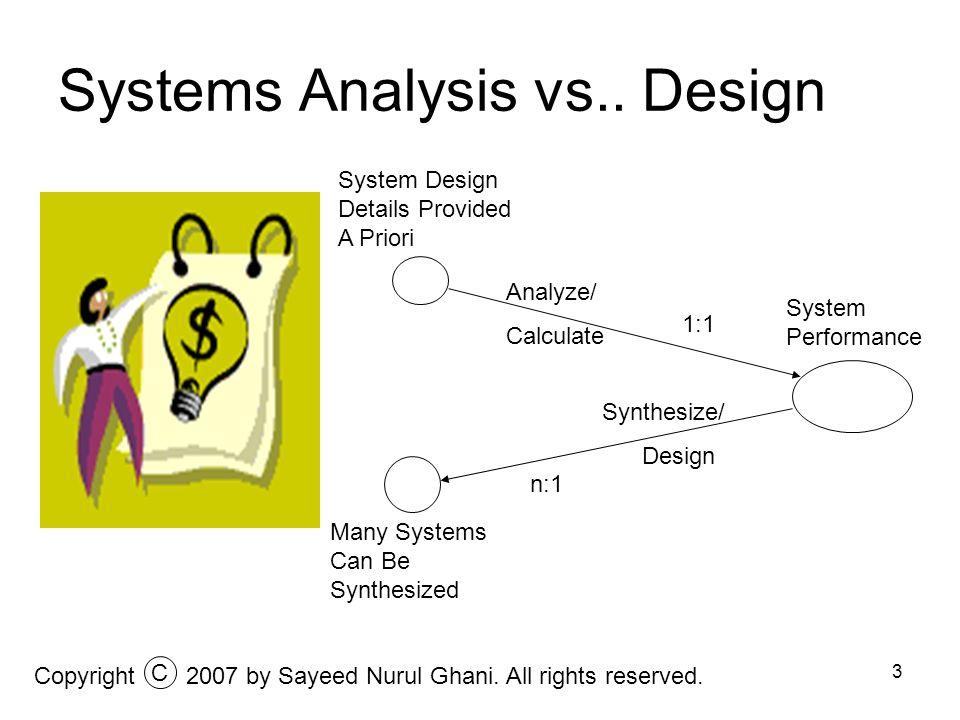4 Traditional Systems Design In traditional systems design the objective is merely to meet the specifications.