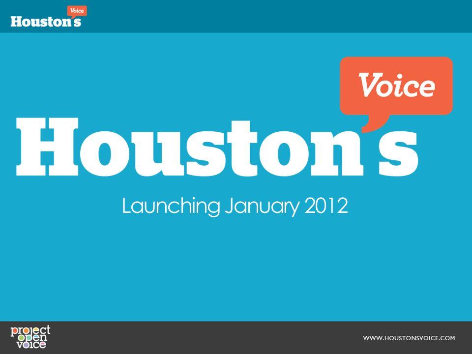 Launching January 2012