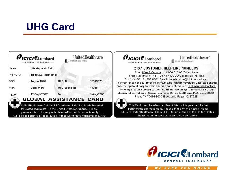 UHG Card